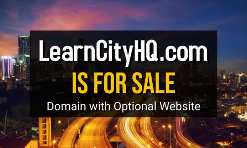 LearnCityHQ Is For Sale